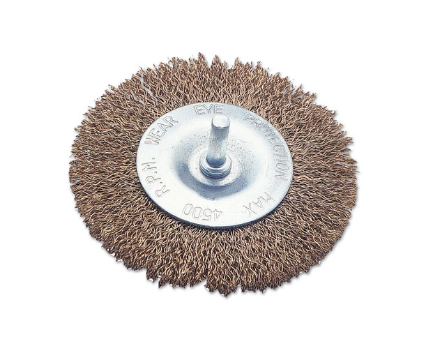"Wire Brush Flat Type 4"" 100mm"