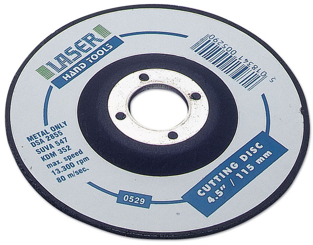 "Cutting Disc 1-4.5""/115mm dia."
