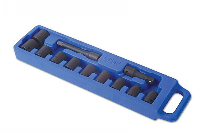 "Socket Set Impact 1/2""D 12pc"
