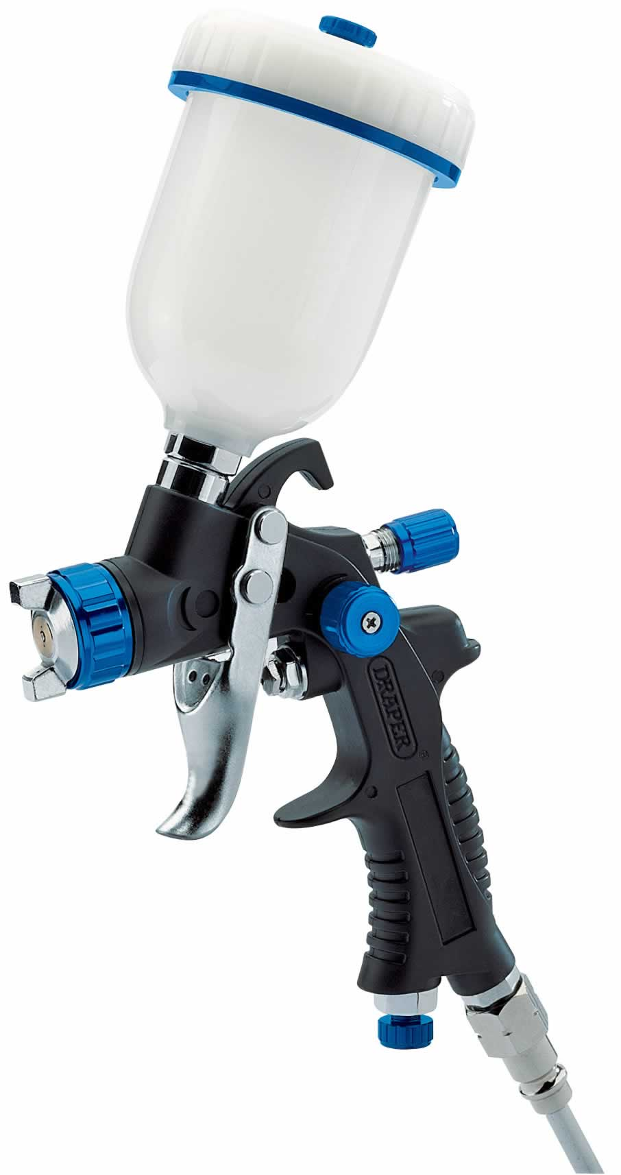 100ml GRAVITY FEED HVLP COMPSITE BODY AIR SPRAY GUN