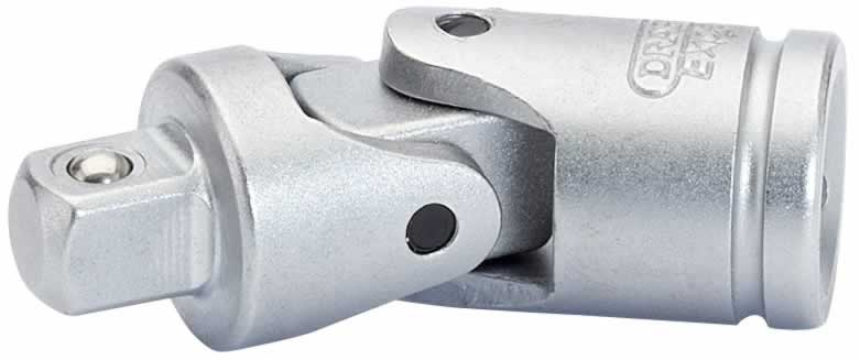 "EXPERT 1/4"" SQUARE DRIVE SATIN CHROME PLATED UNIVERSAL JOINT"