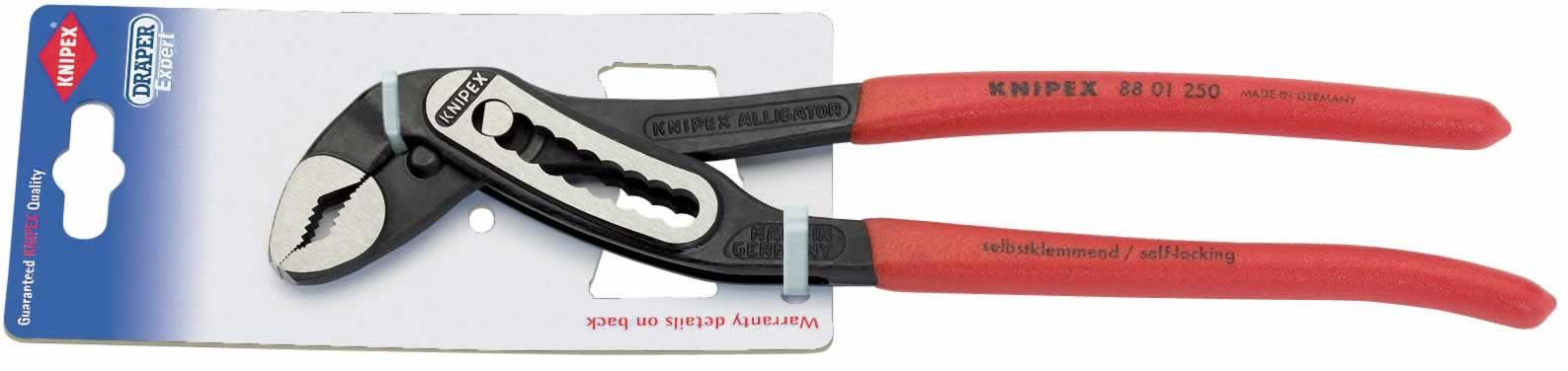 250MM KNIPEX ALLIGATOR WATERPUMP PLIERS     (G)