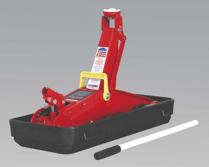 Trolley Jack Yankee 2tonne Short Chassis with Storage Case