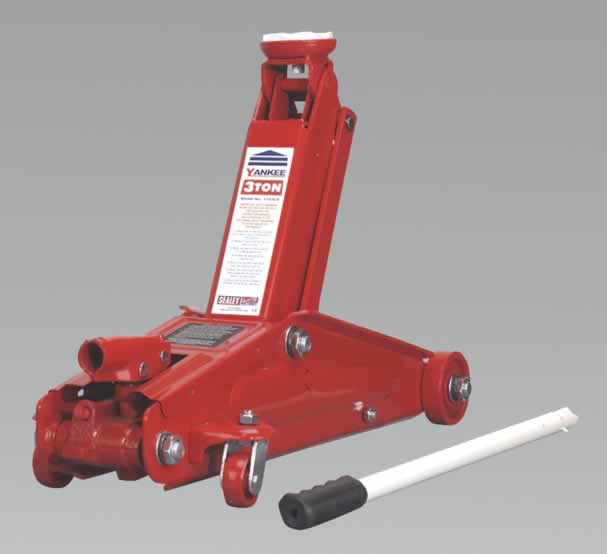 Trolley Jack Yankee 3tonne Long Chassis Heavy-Duty