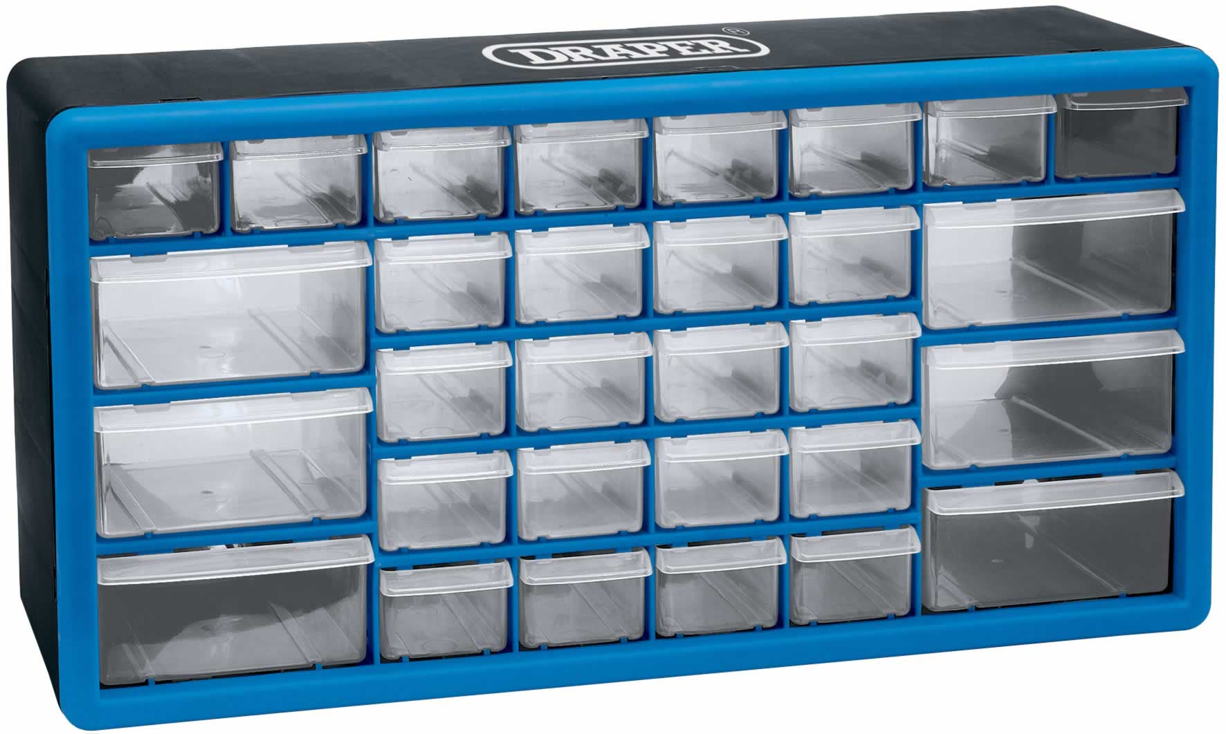 30 DRAWER STORAGE CABINET/ORGANISER - 500 x 160 x 255MM