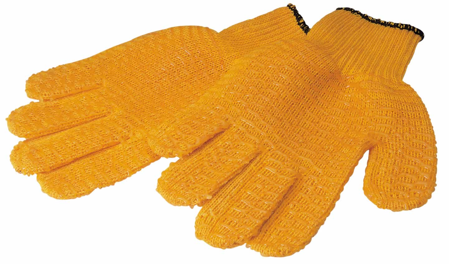 EXPERT NON-SLIP NYLON WORK GLOVES - MEDIUM/LARGE