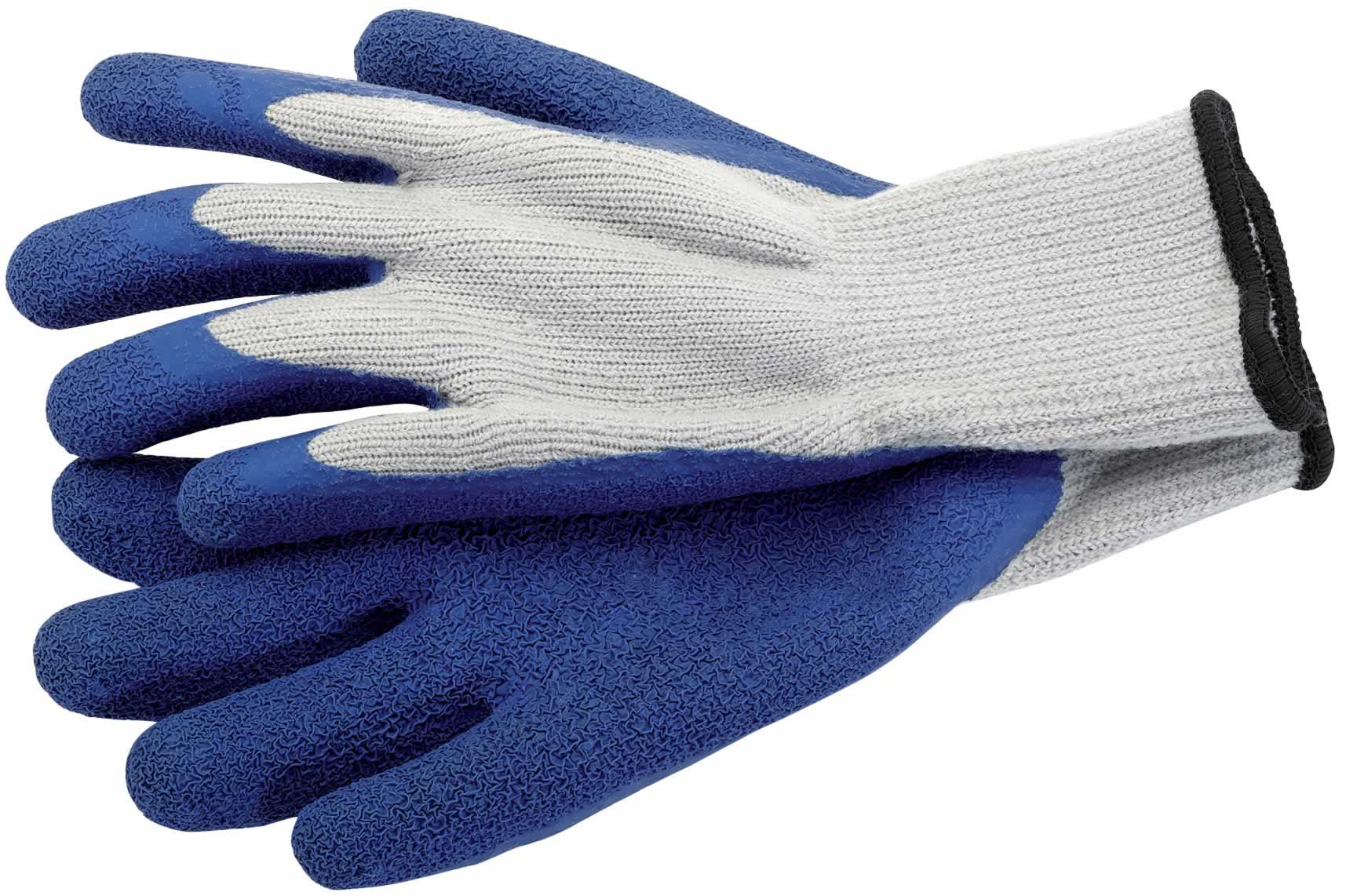 HEAVY DUTY LATEX THERMAL GLOVES - LARGE