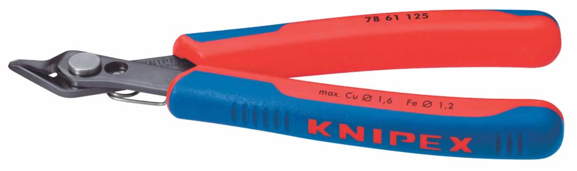 125MM KNIPEX SPRING STEEL ELECTRONICS SUPER-KNIPS  (G)