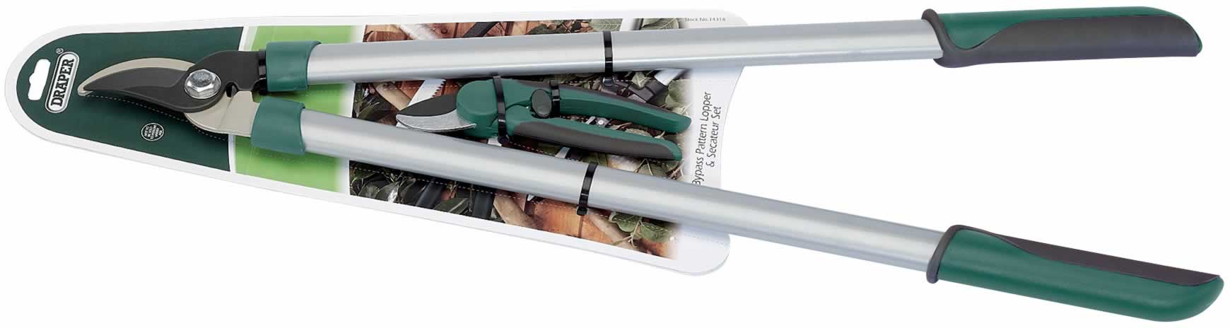 BYPASS LOPPER AND SECATEUR SET
