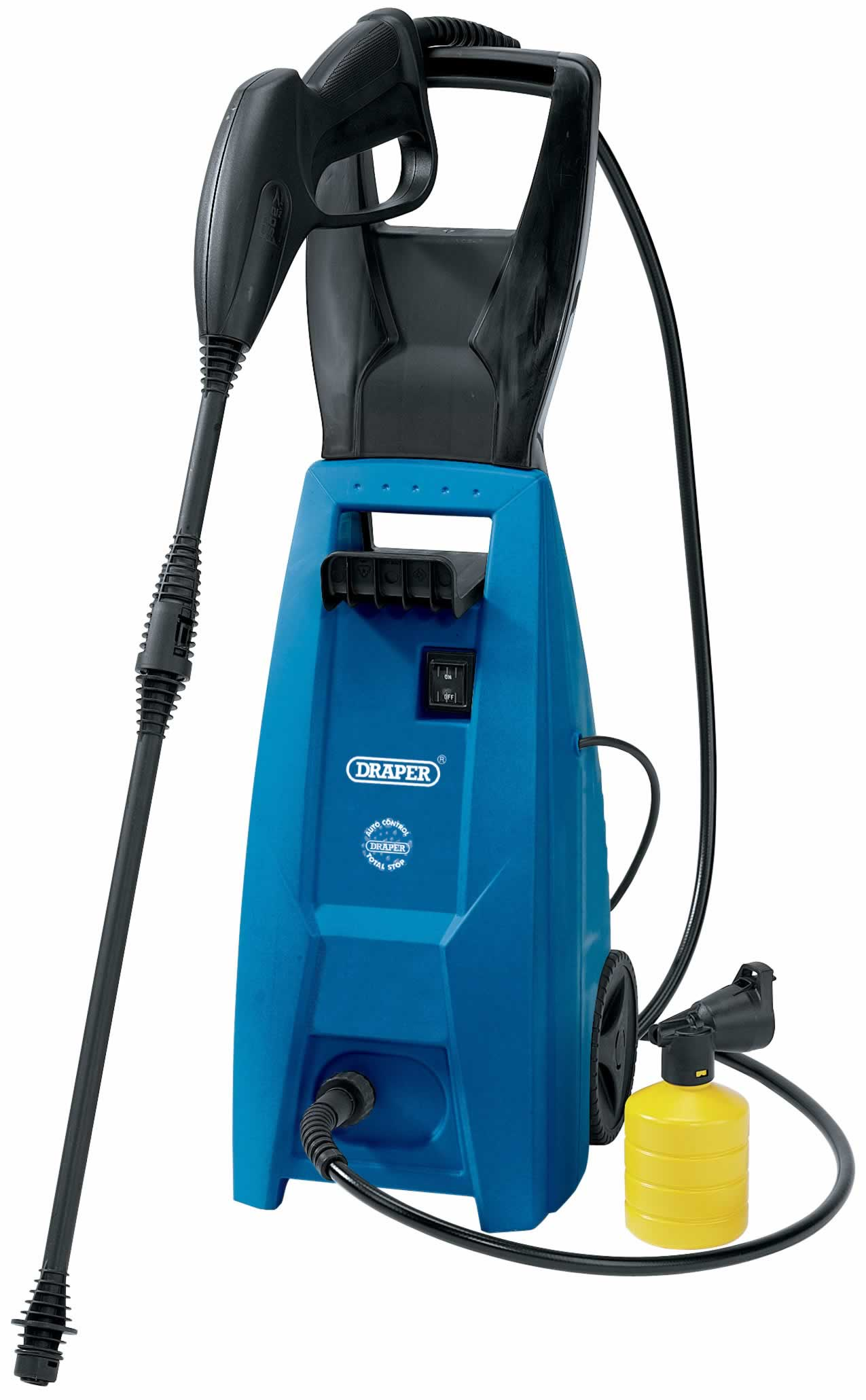 1500W 230V PRESSURE WASHER WITH TOTAL STOP FEATURE