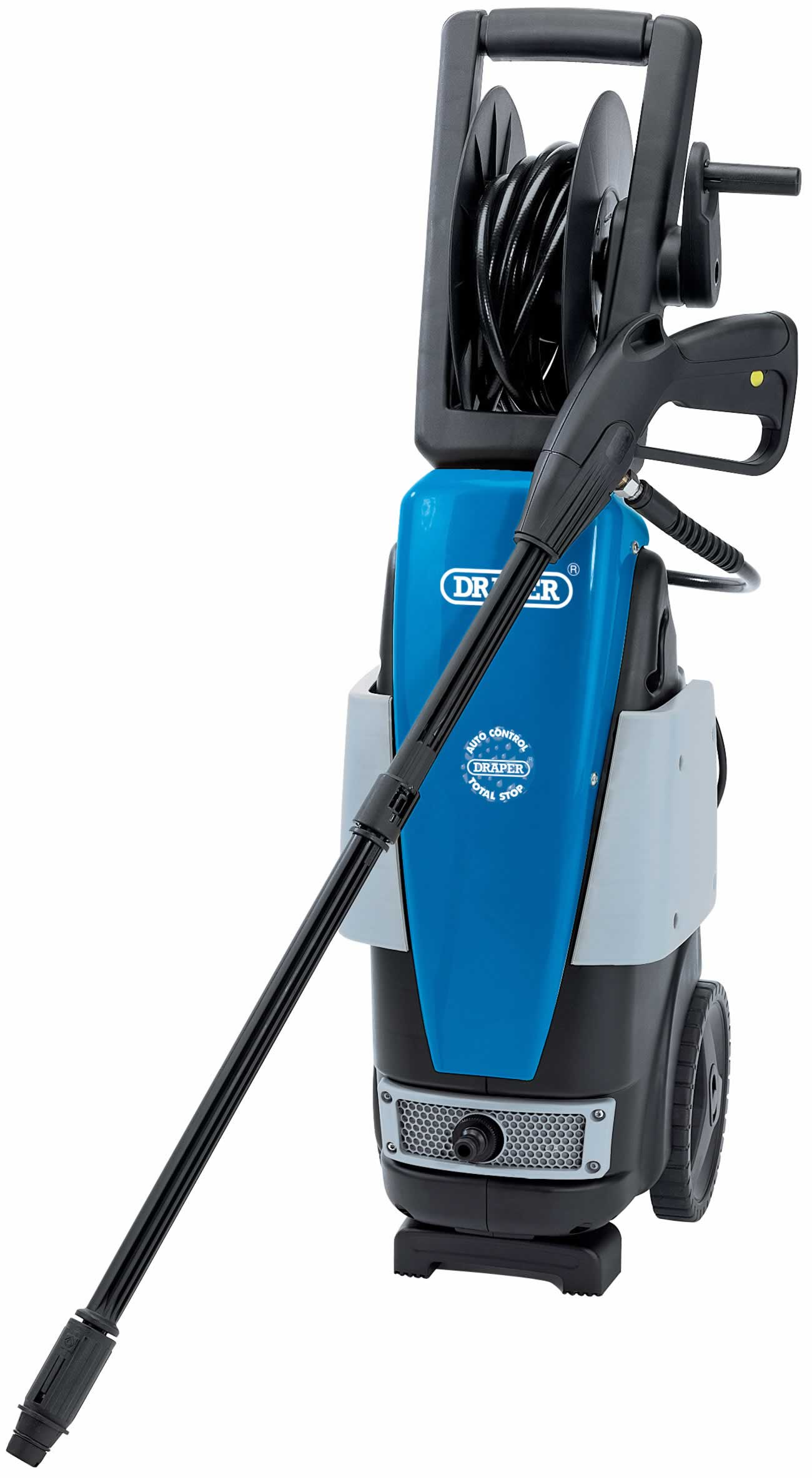 1900W 230V PRESSURE WASHER WITH TOTAL STOP FEATURE