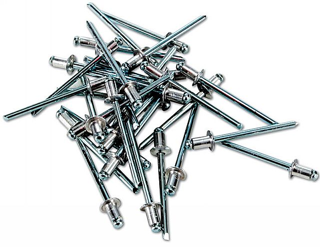 30 Rivets 4mm x 6mm