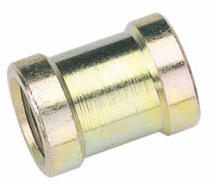 "1/4"" BSP PCL PARALLEL UNION NUT / SOCKET"
