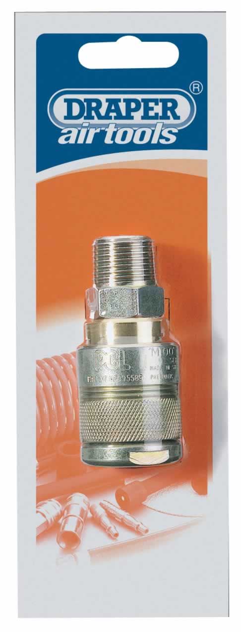 1/2 BSP MALE THREAD AIR LINE COUPLING
