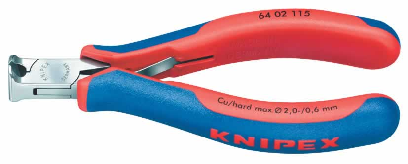 115MM KNIPEX ELECTRONICS END CUTTING NIPPER  (G)