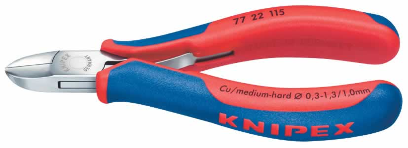 130MM KNIPEX FLUSH ELECTRONICS DIAGONAL CUTTERS  (G)