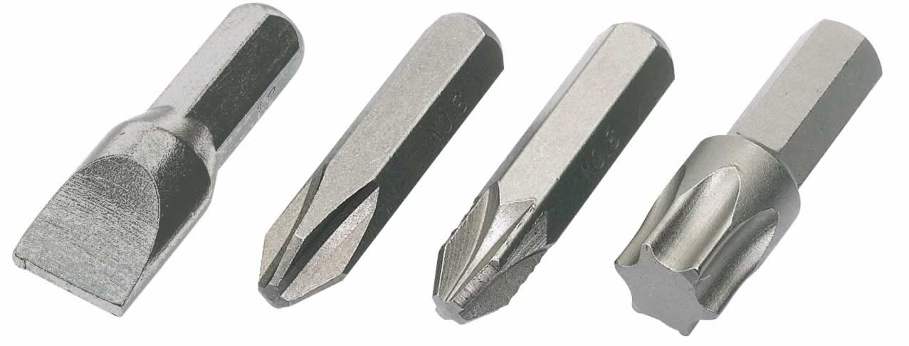 NO 3 PZ TYPE IMPACT SCREWDRIVER BIT