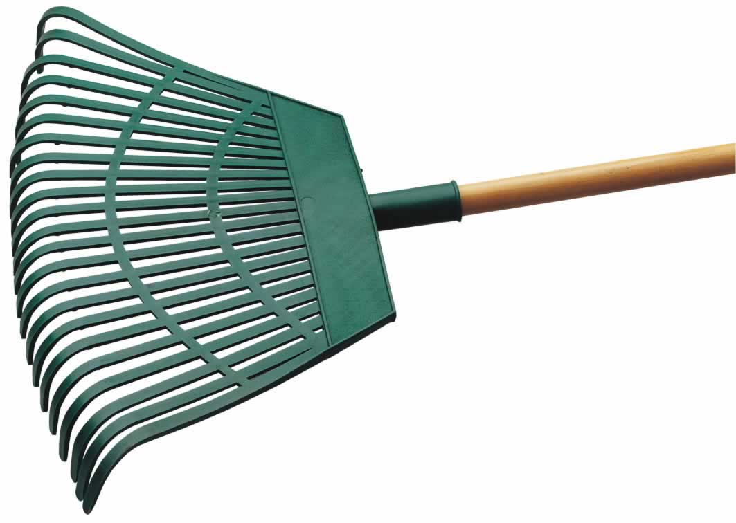 550MM HEAD PLASTIC LEAF RAKE