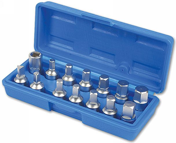 Drain Plug Key Set 14pc