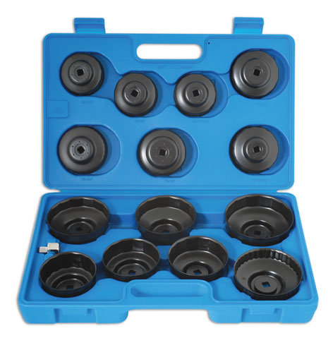 Oil Filter Wrench Set Cup type 15pc
