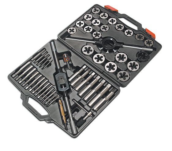 Tap And Die Set - MM 51pc