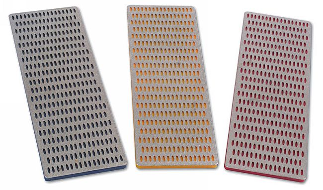 "Diamond Sharpening Stones 2"" x 6"" 3pc"