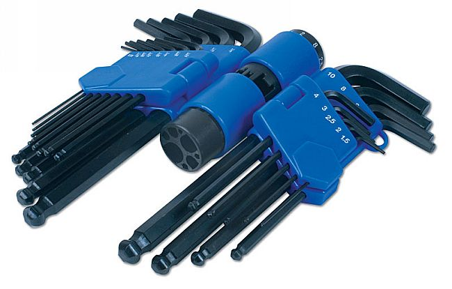 Hex Key Set - Ball End 22pc