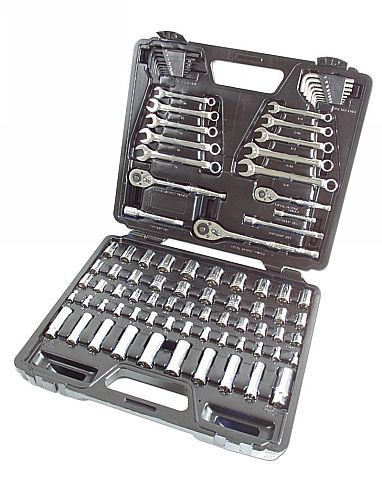 Socket and Wrench Set AF/MM 89pc