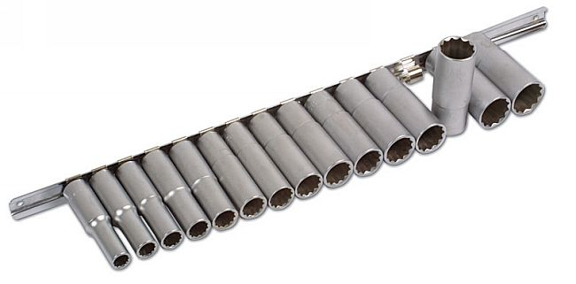Deep Socket Set Bi-Hex MM
