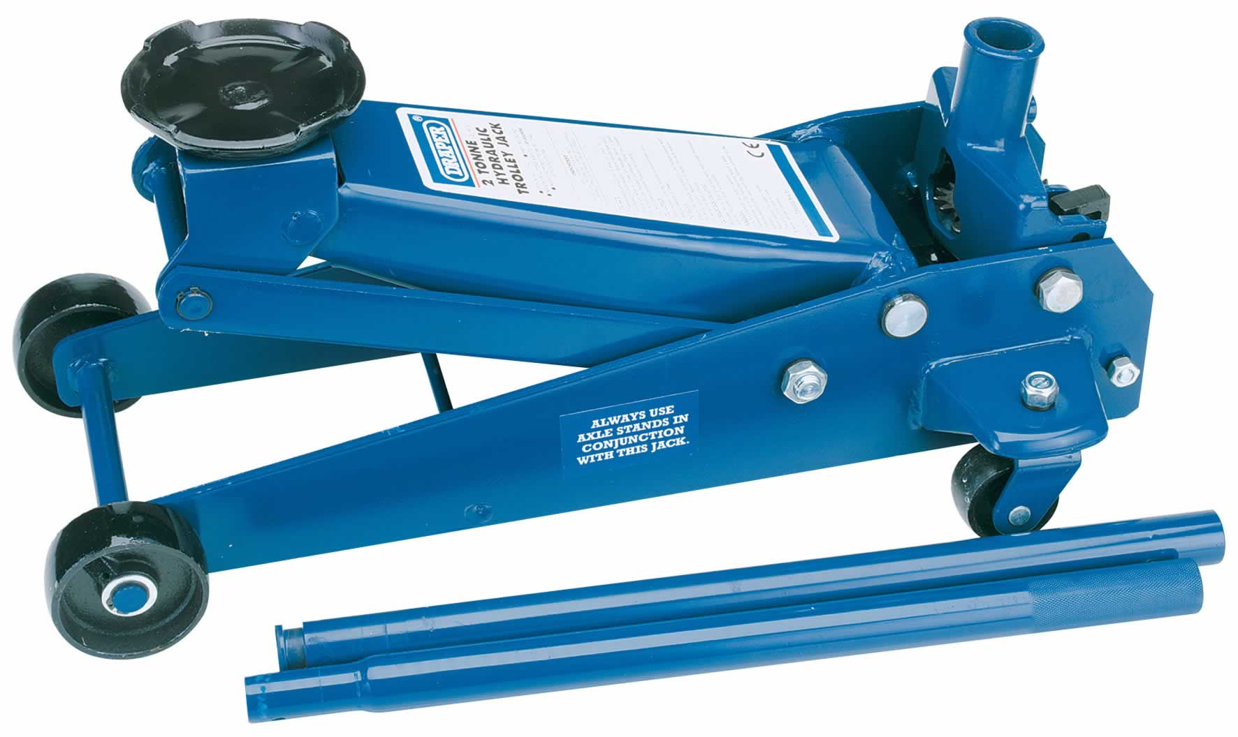 2 TONNE HEAVY DUTY GARAGE TROLLEY JACK