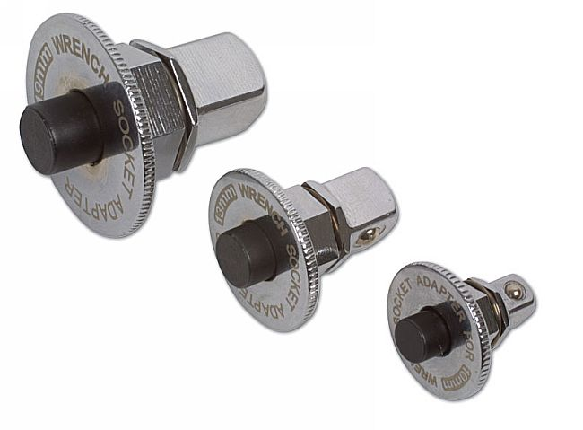 Ratchet Ring Adaptor Set 3pc - Bi-Hex