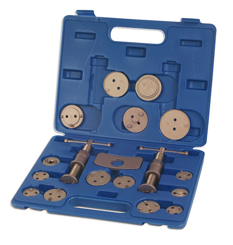 Brake Caliper Wind Back Tool 18pc
