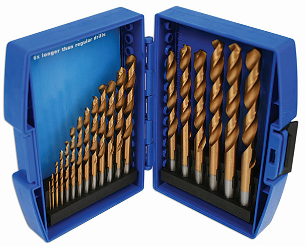 Drill Set - Titanium Coated 19pc  (E)