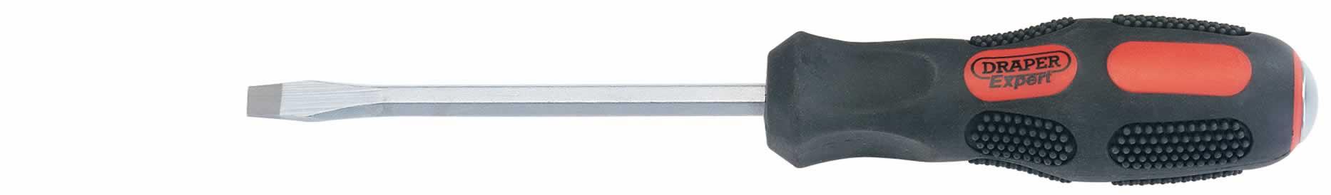 Draper Expert 2.5mm x 63mm to 5.5mm x 200mm Parallel Tip Engineers Screwdriver