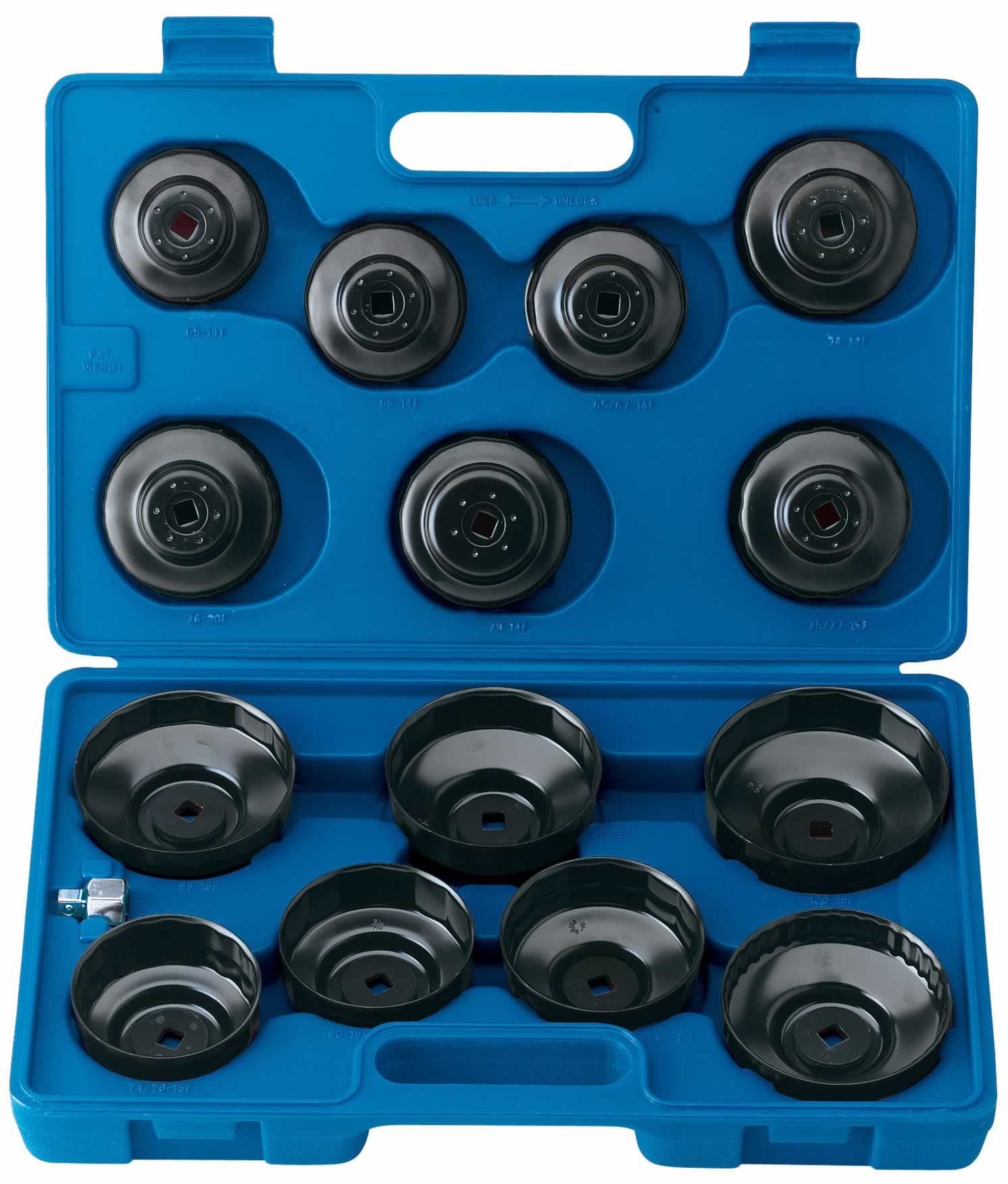 EXPERT 15 PCE OIL FILTER CUP SOCKET SET