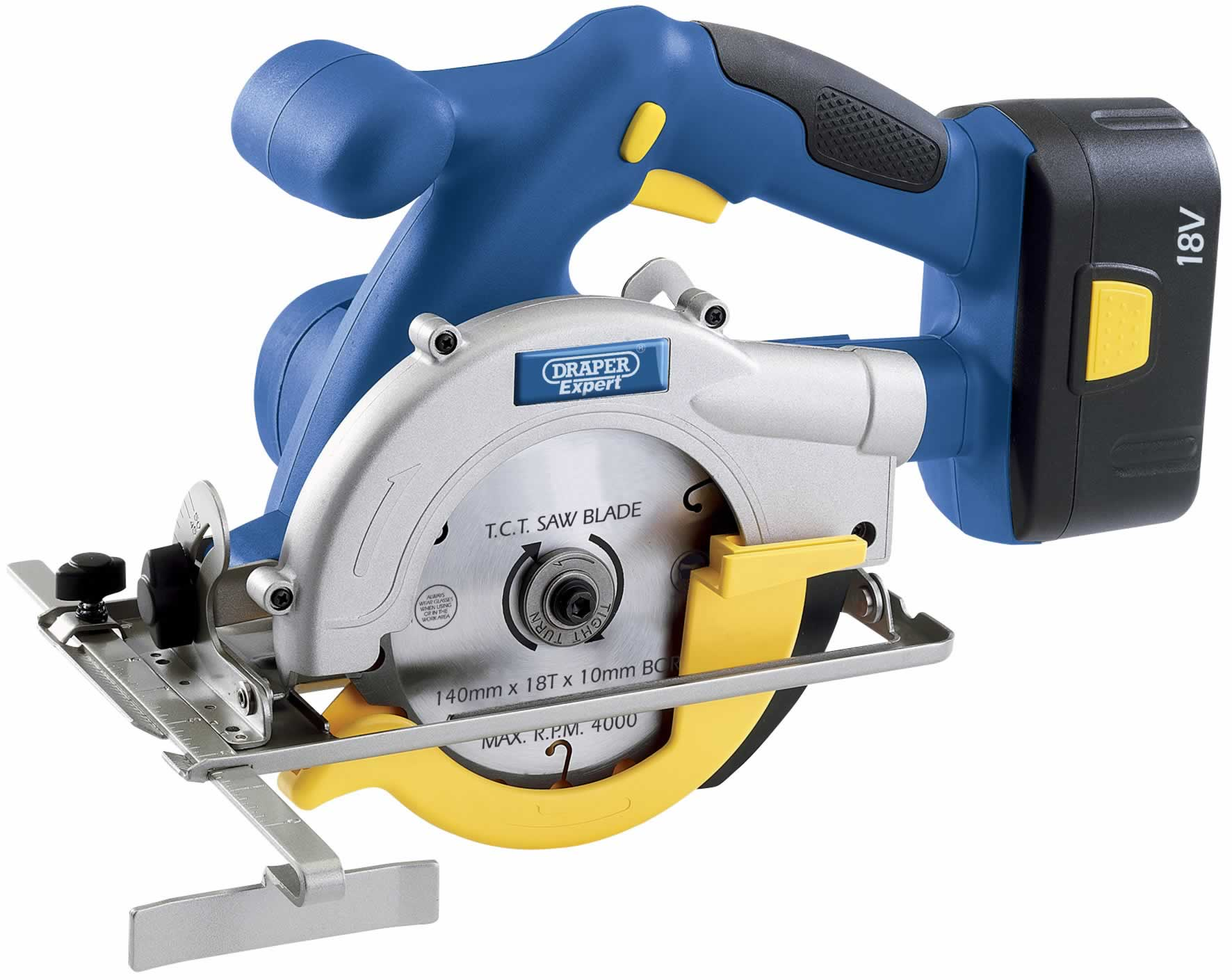 EXPERT 140MM 18V CORDLESS CIRCULAR SAW WITH CASE (AHA)