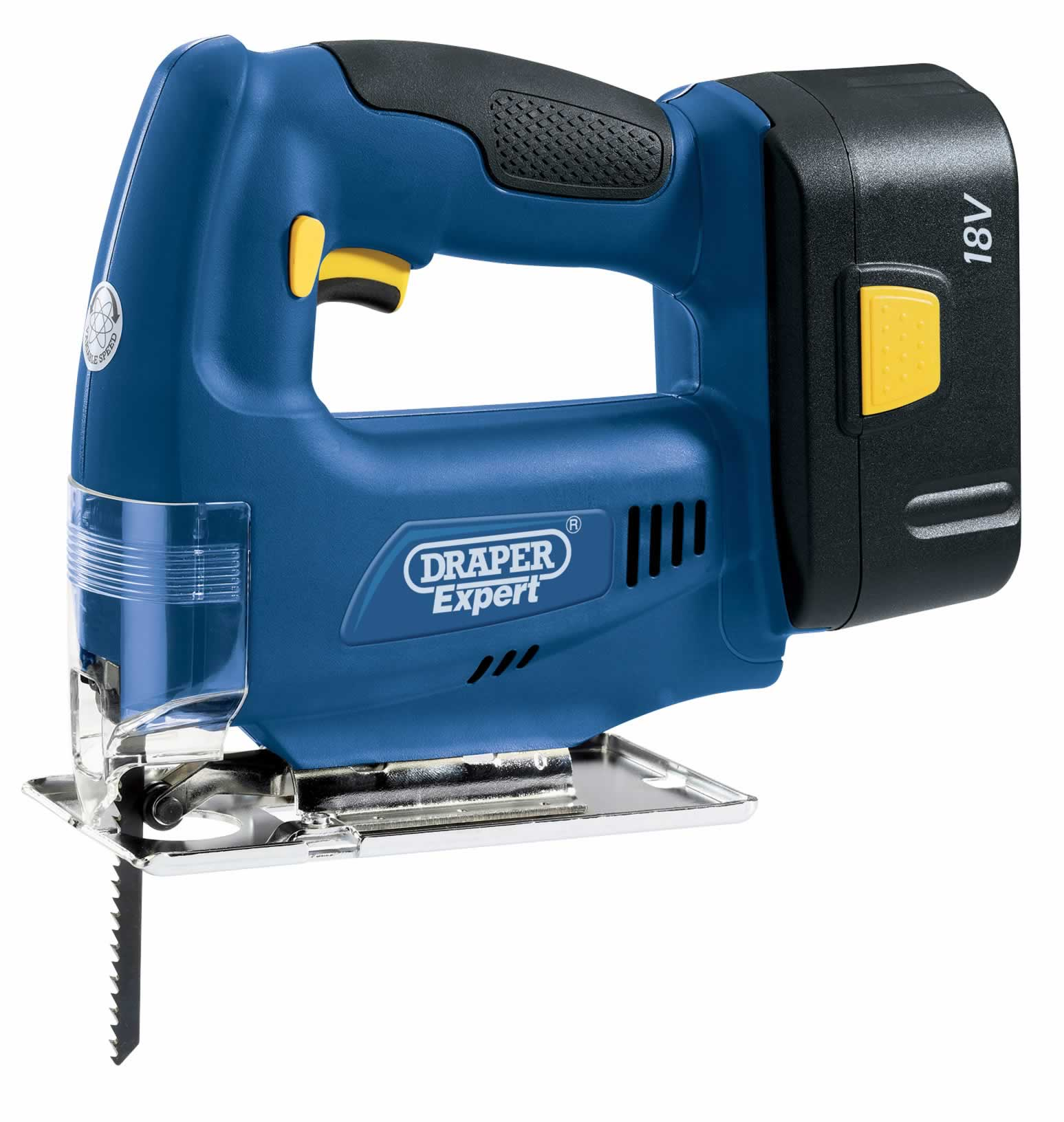 EXPERT 18V VARIABLE SPEED JIGSAW WITH BATTERY