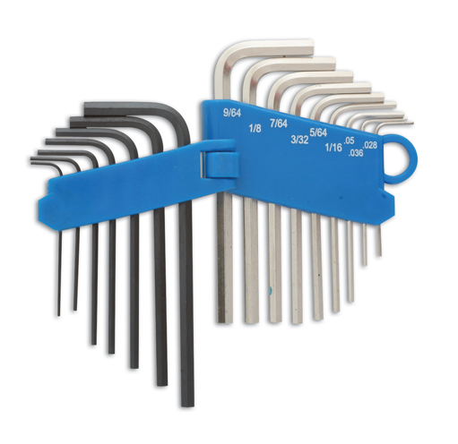 Miniature Hex Key Set MM/AF      (G]