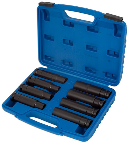 "Off-Line Impact Socket Set 8pc 1/2""D"