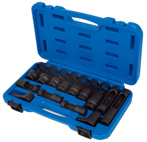 Diesel Injector/ Lambda Socket Set 14pc   (AHCC)