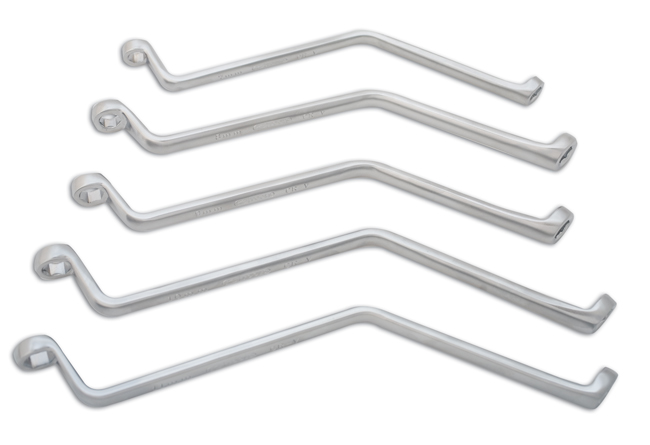 Brake Bleeder Wrench Set 5pc