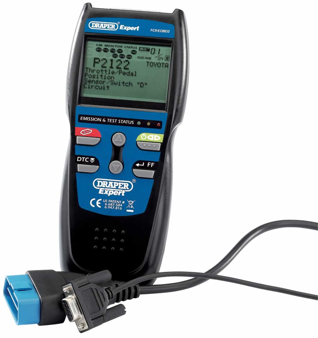 EXPERT EOBD2 DIGITAL ENGINE FAULT CODE READER