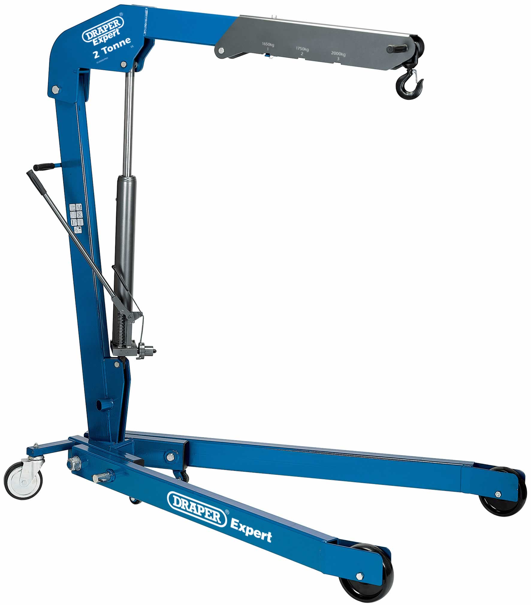 EXPERT 2 TONNE FOLDING ENGINE CRANE