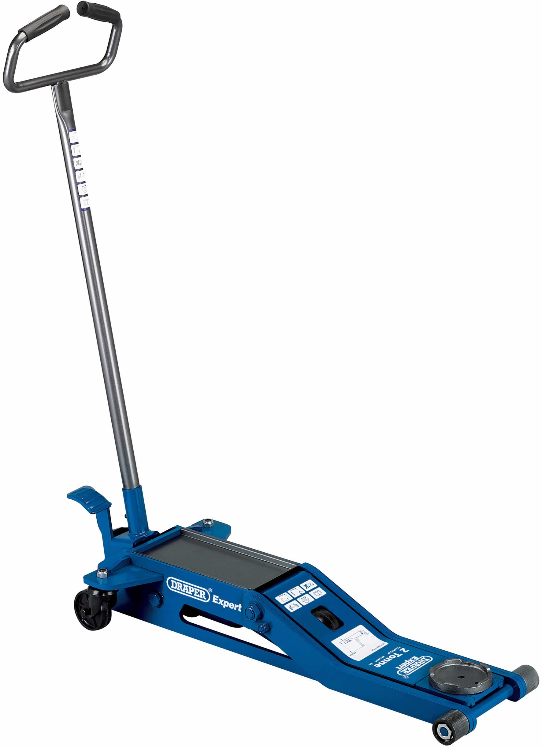 EXPERT 2 TONNE LOW PROFILE TROLLEY JACK
