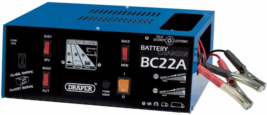 12/24V AUTOMATIC BATTERY CHARGER