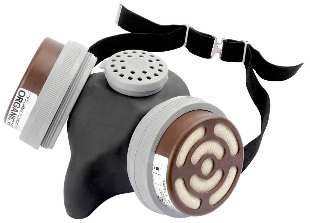 EXPERT COMBINED VAPOUR AND DUST FILTER RESPIRATOR