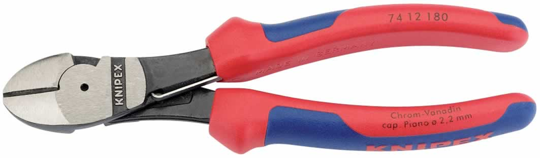 KNIPEX   HI-LEV SIDE CUTTER 160MM S/G 		(G)