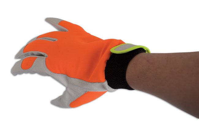 Mechanics Hi Vis Gloves