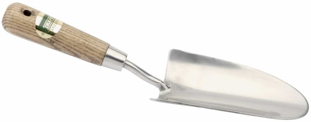EXPERT STAINLESS STEEL HEAVY DUTY HAND TROWEL WITH FSC ASH HANDLE