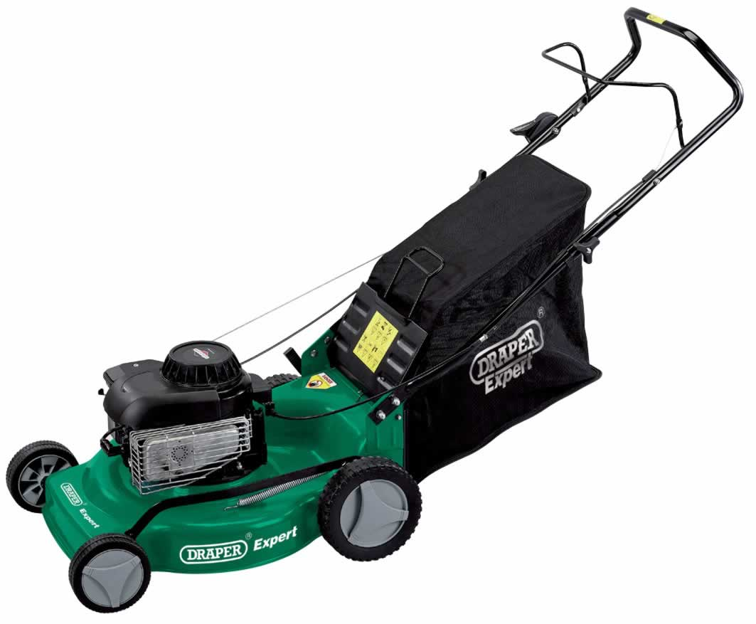 EXPERT 3.5HP 460MM PETROL MOWER WITH BRIGGS & STRATTON ENGINE